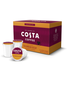 Colombian Decaf Single Serve Pods Subscription, 30 Count